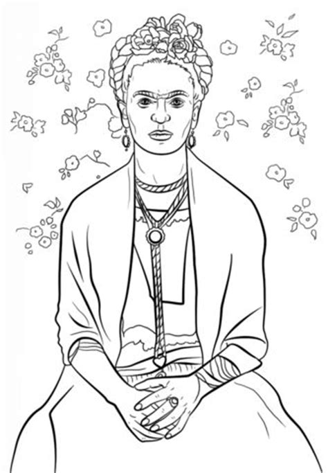 libro frida kahlo colouring books 29 best images about 1 day art projects on recycled books self portraits and bubble