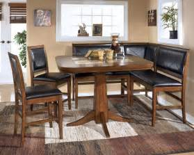 Dining Room Table With Benches Dining Room Table Corner Bench Set Crofton Ideas For The House Dining