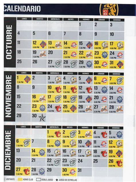 Calendario De Juegos Calendario De Juegos Temporada 2010 2011 Leones