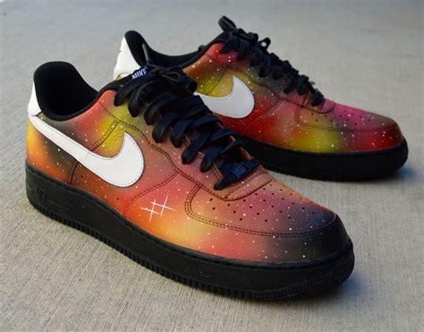 custom shoes for custom painted solar flare galaxy nike air 1