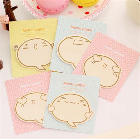 Sticky Notes Memo Stationery Kawaii Bandage Memo 3 smilies sticky