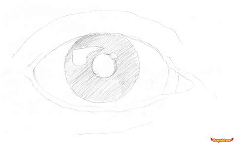 Drawing In Pencil Step By Step by How To Draw An Eye In Pencil Step By Step