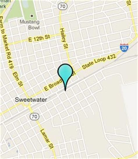 map sweetwater texas sweetwater texas hotels motels see all discounts
