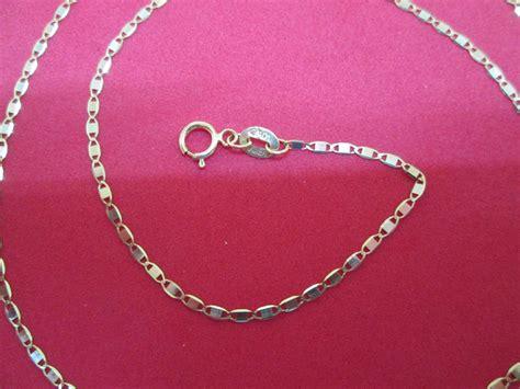 cadenas de oro tipo gucci cadena gucci espejo colores oro 14 kilates mod 1