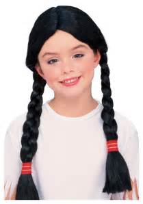 free mative american braids for hair photos girls native american costume wig
