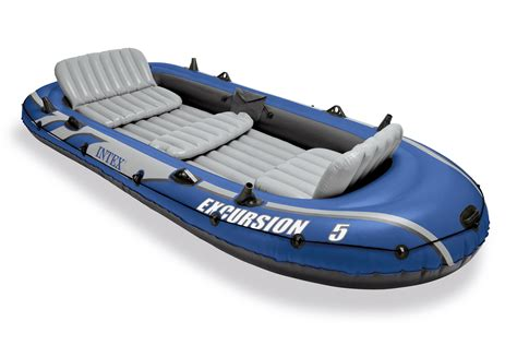 inflatable boat repairs cape town intex excursion 5 person inflatable fishing boat set with