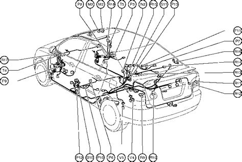 Toyota Camry Interior Parts Diagram by Position Of Parts In Toyota Corolla 2004 Wiring