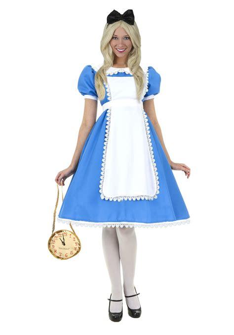 alice in wonderland costume alice in wonderland costumes adult supreme alice costume