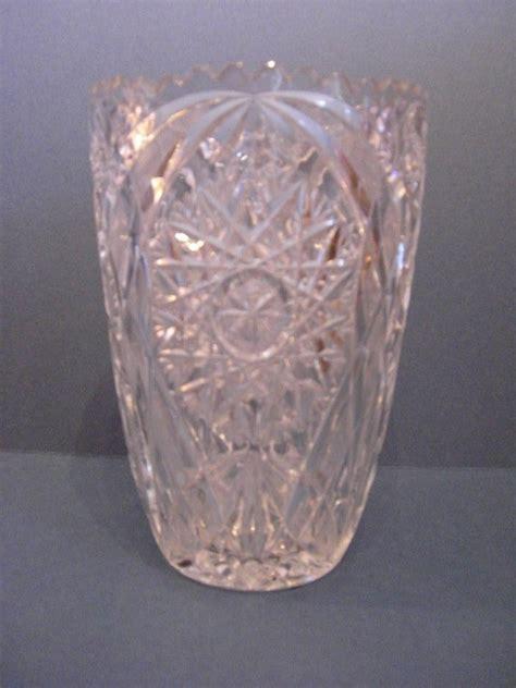 brillant cut glass vase for antiques classifieds