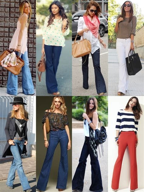 how to wear flare pants flare pants are in style what to wear with flare pants on different occasions