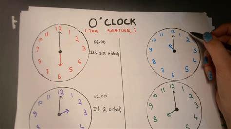 ingilizce saatler konu anlatimi youtube
