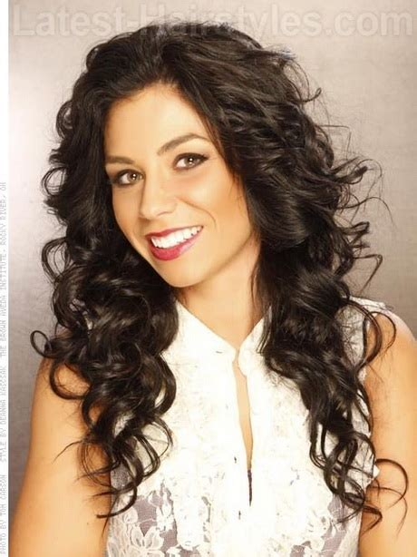 indian hairstyles that suits round face curly hairstyles for long faces