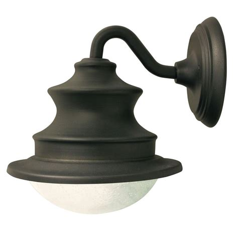 home depot barn light gama sonic barn solar brown outdoor integrated led wall