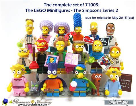 Lego Set Minifiigures Simpsons Series 2 16pcs Character Complete 71009 archives legogenre