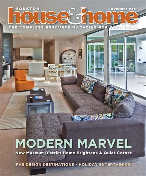 houston house home magazine november 2011 issue by