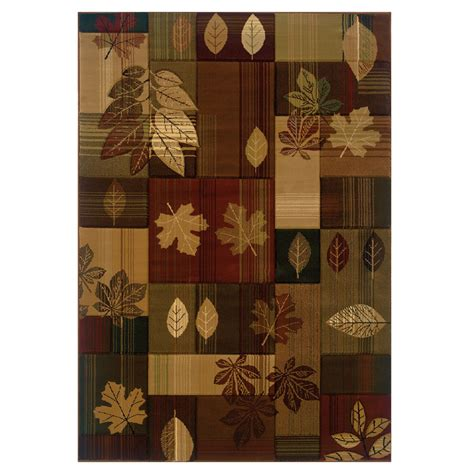 color block rug color block leaves rug 8 x 11