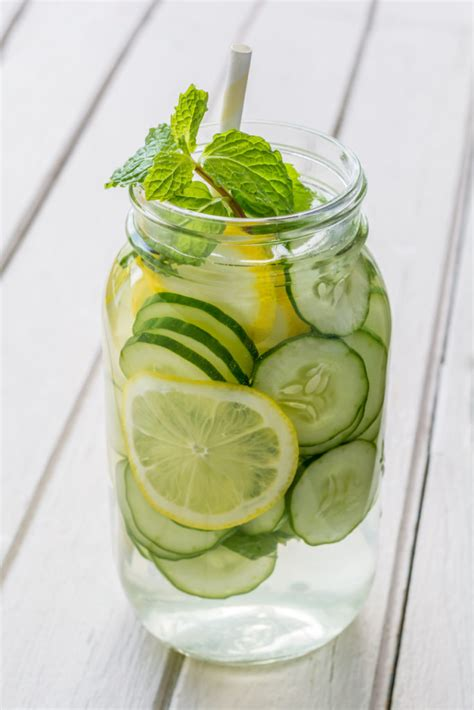 Detox Water Lemon Cucumber Mint Side Effects by Cucumber Lemon Mint Water Benefits
