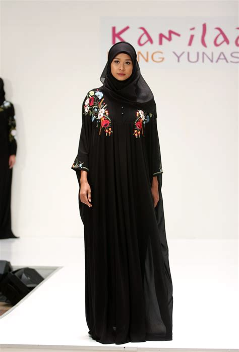 Outer Batik Tumpuk 50 inspirasi baju lebaran 2017