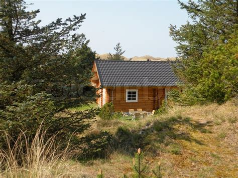 vacation cottage in denmark by m 248 n huset small house bliss lonely wood summer house in rural dune landscape with