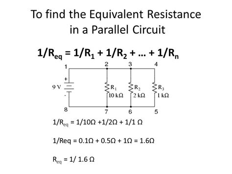 resistance in parallel series series and parallel circuits ppt