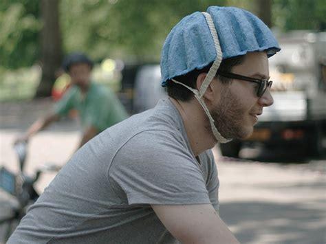 design your bike helmet rca students design a recycled paper bike helmet strong