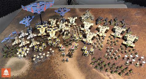 warhammer 40k sales bols model showcase big s tau army bell of lost souls
