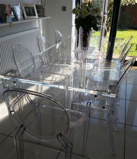 acrylic dining room table 87 best images about clear see thru furniture on pinterest