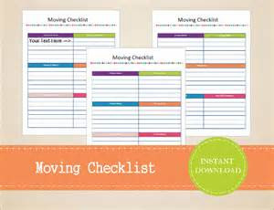 Moving To Do List Template Moving Checklist Template 15 Word Excel Pdf Documents