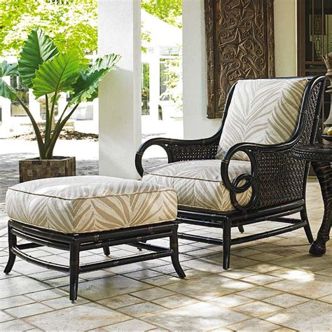 Tommy Bahama Outdoor Living Marimba Outdoor Lounge Chair Outdoor Chair Ottoman Set