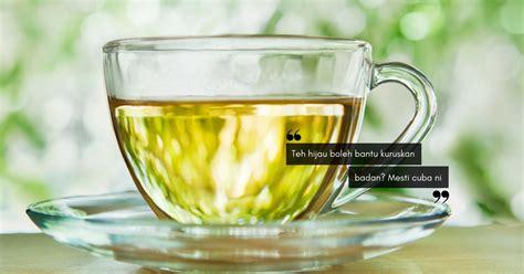 Minuman Teh Hijau air alkali baik untuk detoksifikasi ini alasan kukuh kenapa anda mesti minum teh hijau untuk