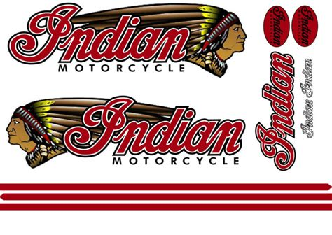 Sticker Indian Motorcycle indian motorcycle decal shop collectibles daily