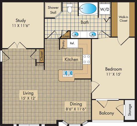 liberty place floor plans plan d1 the liberty place apartments