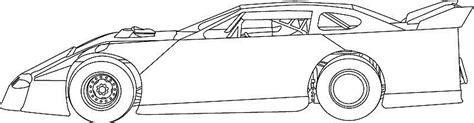 Dirt Modified Coloring Pages Www Pixshark Com Images Late Model Free Coloring Pages