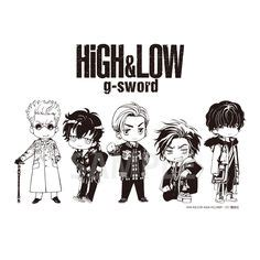 High Low Story Of The Sword Season 2 Subtitle Indonesia sinopsis japanese drama high low the story of