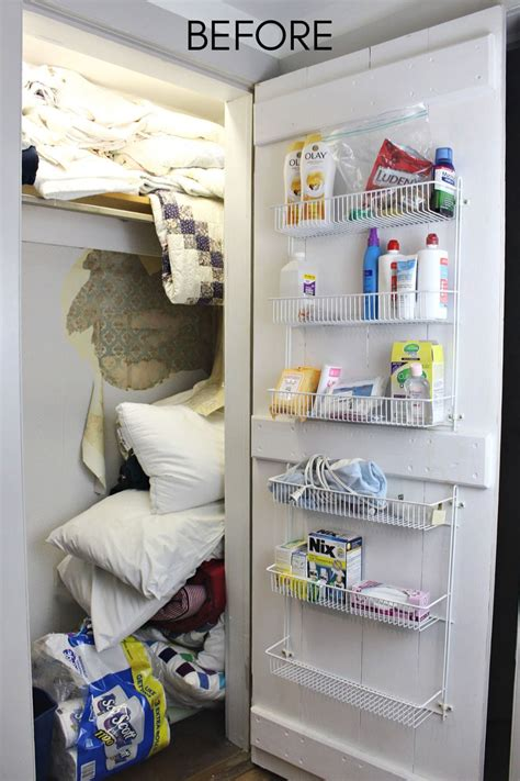 linen closet makeover jaime costiglio