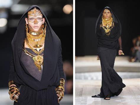 Fashion Arabian givenchy goes arabic at fashion week 2009 middle