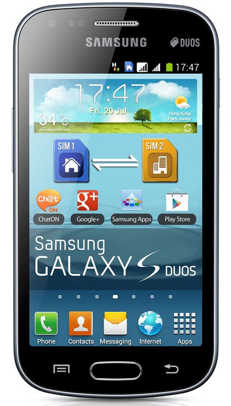 shop samsung galaxy  duos  gsm unlocked dual sim android cell phone black