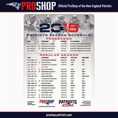 printable nfl preseason schedule 2015 16 printable patriots schedule 2015 freepsychiclovereadings com