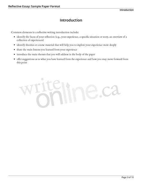 Personal Essay Cover Page by Personal Experience Essay Sles Personal Essay Formats
