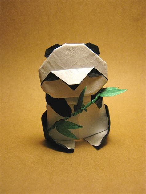 Origami Panda - most adorable origami creations for world origami day