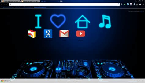 theme google play music best google chrome themes 2012 cartridge monkey