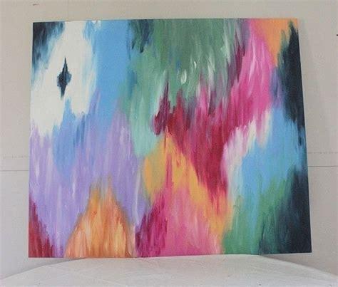 tips  diy abstract canvas art   create  piece