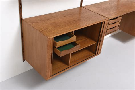 Wall Desk System by Wall System With Desk By Kristiansen Modestfurniture