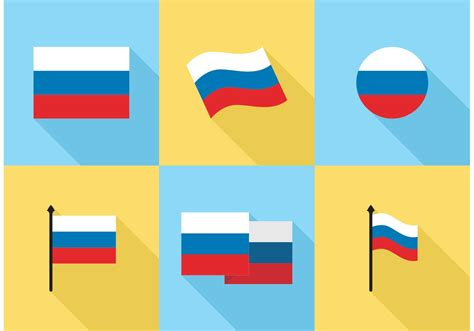 russian flag icons vector free free vector stock graphics images