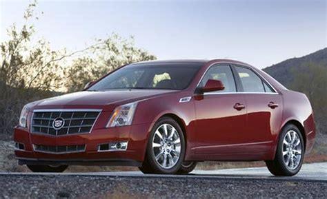 2008 cadillac cts sedan car and driver