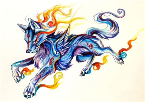 fire and ice tattoo charity adoptable by lucky978 deviantart on