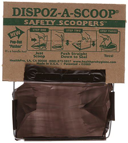 scoopers for dogs healthpro dispoz a scoops for dogs 96 pack import it all