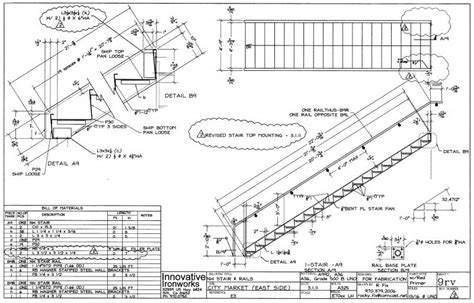 stair section detail concrete pan stair details pictures to pin on pinterest