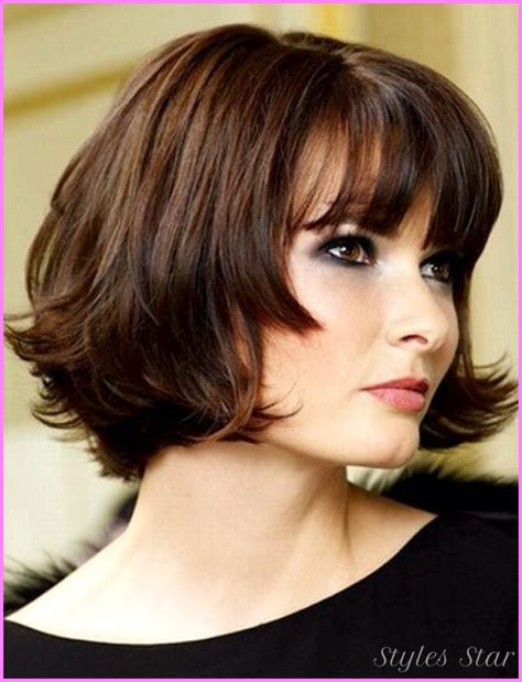 curly chin length cut chin length wavy hairstyles stylesstar com