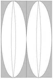 Surfboard Outline Spin Templates by Free Coloring Pages Of Surf Board